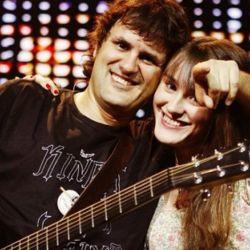 Andres Ciro Martinez y su hija Katja
