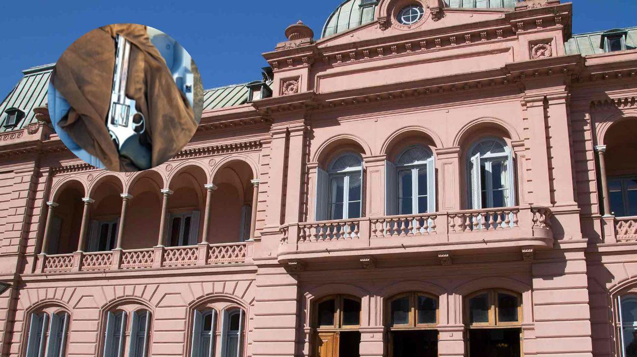Detuvieron en Casa Rosada a un hombre armado que quería ver a Mauricio Macri