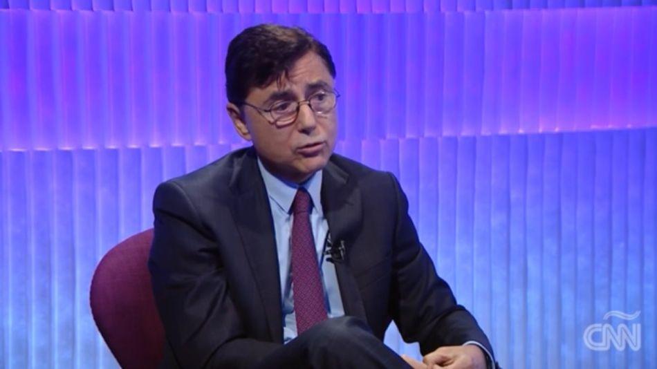 El fundador y CEO de Editorial Perfil, Jorge Fontevecchia, en CNN en español.