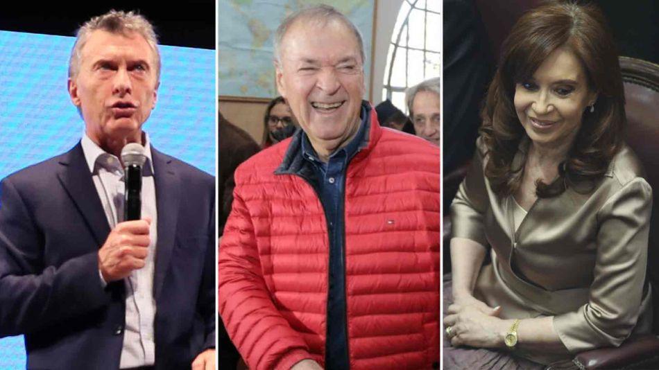 Mauricio Macri, Juan Schiaretti y Cristina Kirchner 05132019