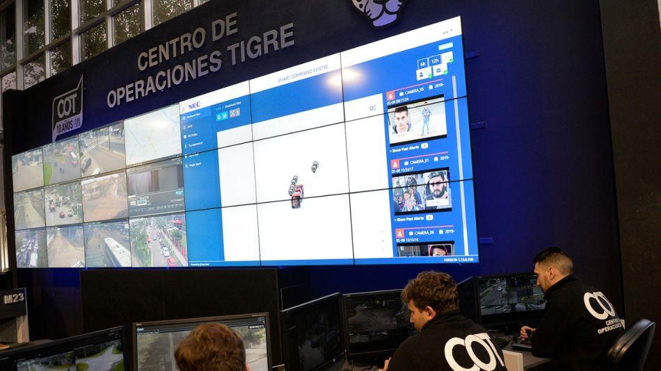 Nuevo sistema de reconocimiento facial en Tigre