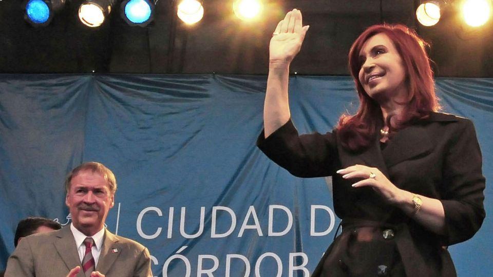 Juan Schiaretti y Cristina Kirchner compartieron su último acto juntos en 2011