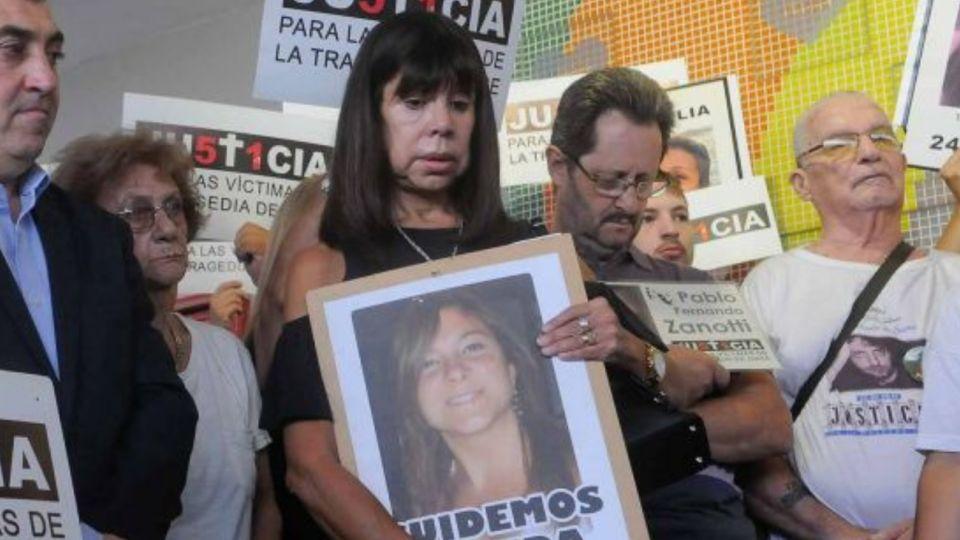 Mónica Bottega falleció el domingo. Junto con otros familiares de las víctimas de la Tragedia de Once, emprendió una lucha para condenar a los responsables.