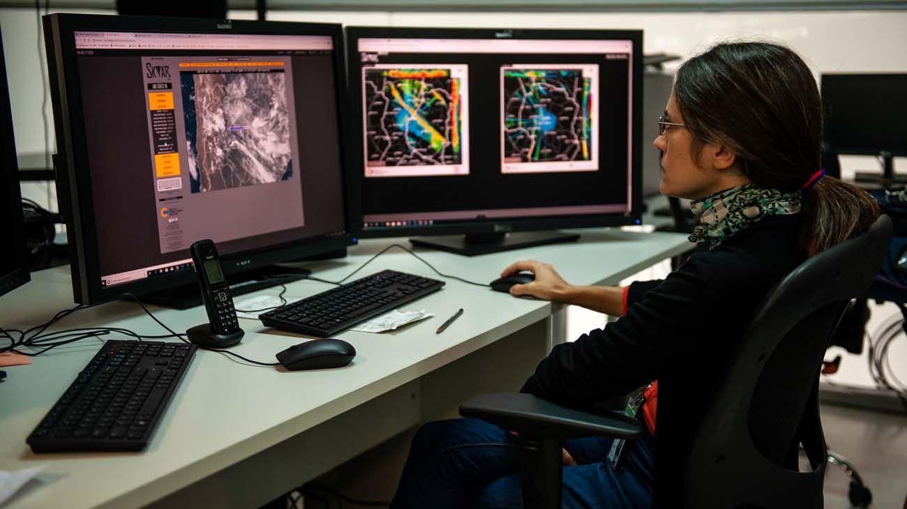 Más información. El nuevo método de trabajo permitió achicar las áreas y hacer pronósticos más específicos.