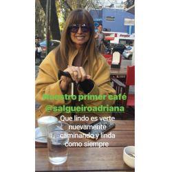 La foto que Daniel Ambrosino publicó de Adriana