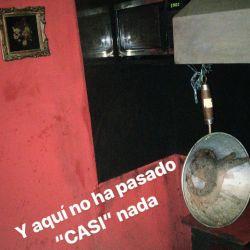 Camilo García sufrió el incendio de su casa