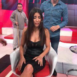 Cinthia Fernández, cambio de look fallido.