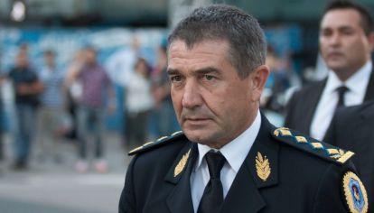 El jefe de la Policía Federal, Néstor Roncaglia.