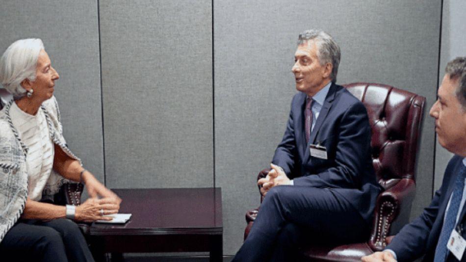 FMI Macri Lagarde Dujovne