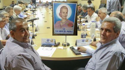 La CGT anunció el pedido a Francisco de beatificación de Eva Perón ayer.