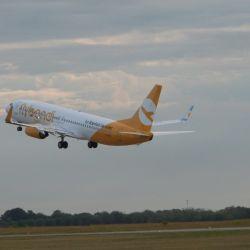 Flybondi lleva transportados más de 1.300.000 pasajeros, de los cuales 190.000 son personas que viajaron en avión por primera vez en su vida.