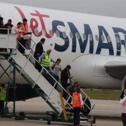 Los Airbus A320 NEO de JetSmart ya vienen de fábrica diseñados para una low cost.