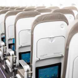 Los aviones de JetSmart tienen asientos de posición fija, sin pantallas ni tomas USB o Wi-Fi.