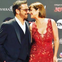 Araceli González y Fabián Mazzei