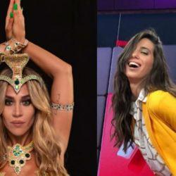 Jimena Barón enfrentó a Cinthia Fernández, tras acusarla de chorra