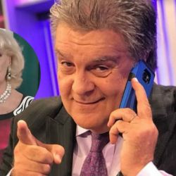 Luis Ventura le sigue pegando a Mirtha