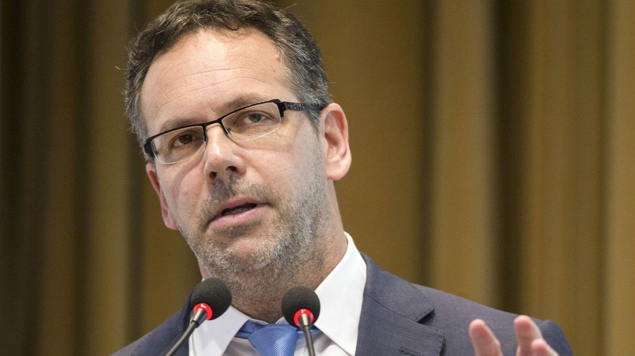 El titular del Banco Central, Guido Sandleris.