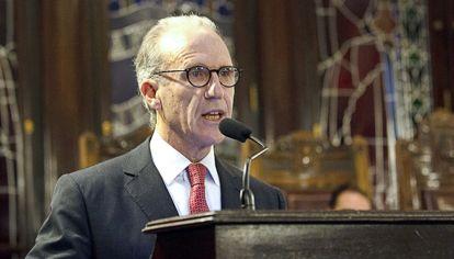 Carlos Rosenkrantz, presidente de la Corte Suprema de Justicia.