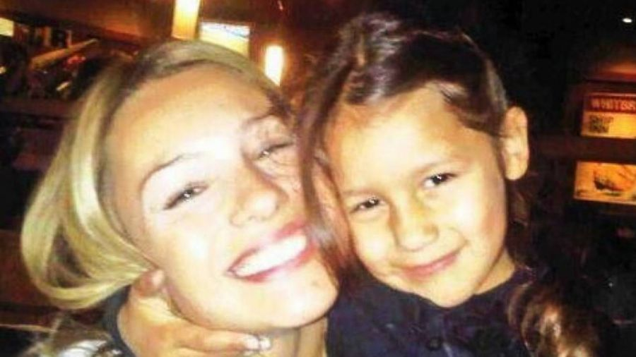 Pampita junto a su hija Blanca