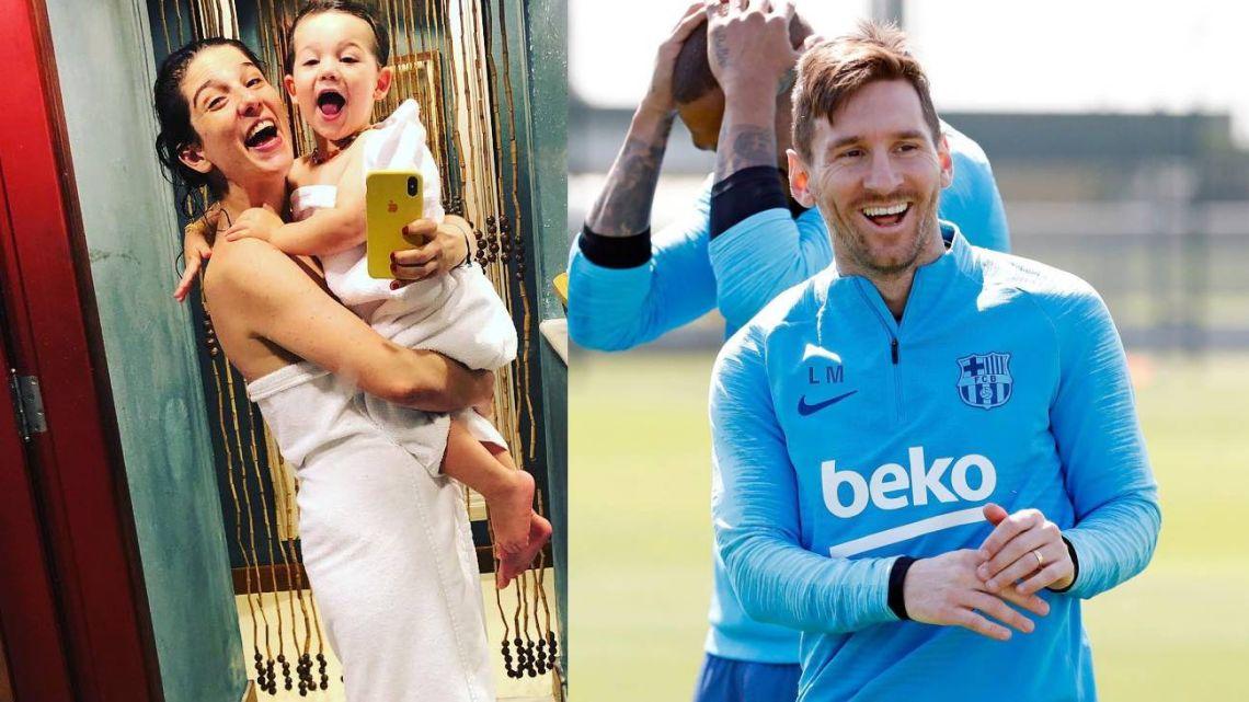 El particular detalle que el hijo de Juana Repetto tiene en común con Leo Messi