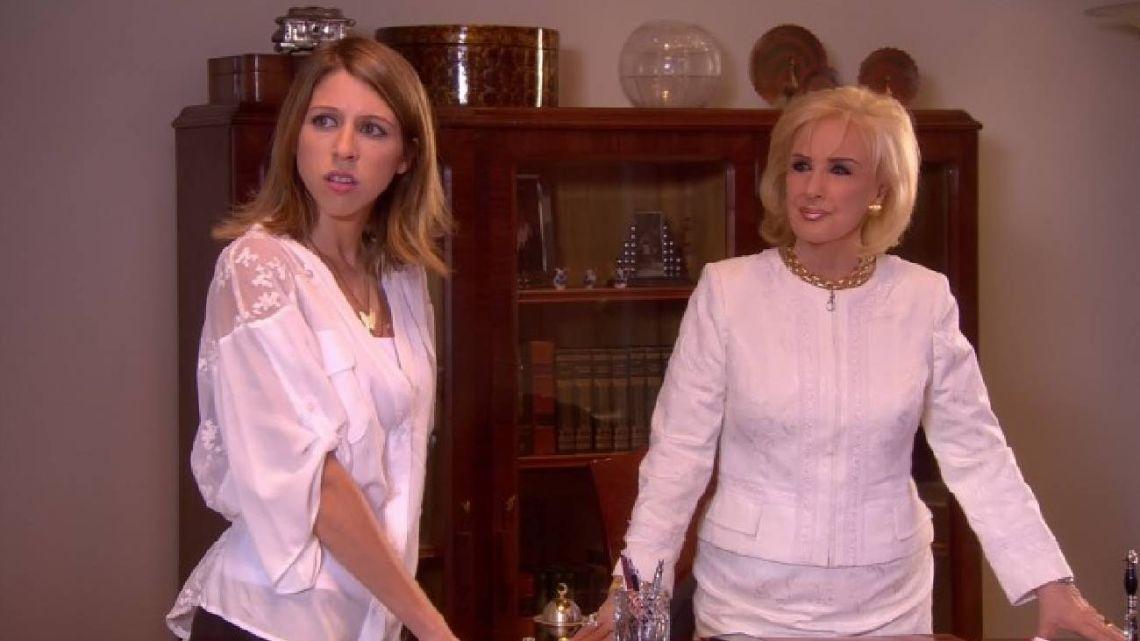 Florencia Bertotti y Mirtha legrand.