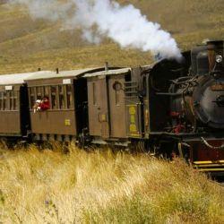 La Trochita, un tren mítica del paisaje patagónico.
