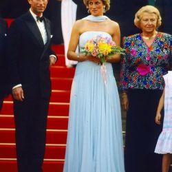 Lady Di en Cannes