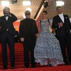 Leonardo Sbaraglia en el Festival de Cannes 2019