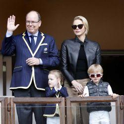 Los Príncipes de Mónaco y sus hijos