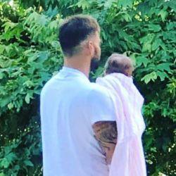 Ricky Martin compartió la foto más conmovedora con Lucía, su hija menor