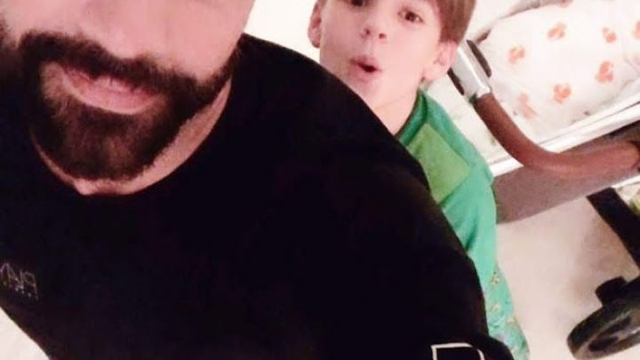 Caras Ricky Martin Compartió La Foto Más Conmovedora Con Lucía Su