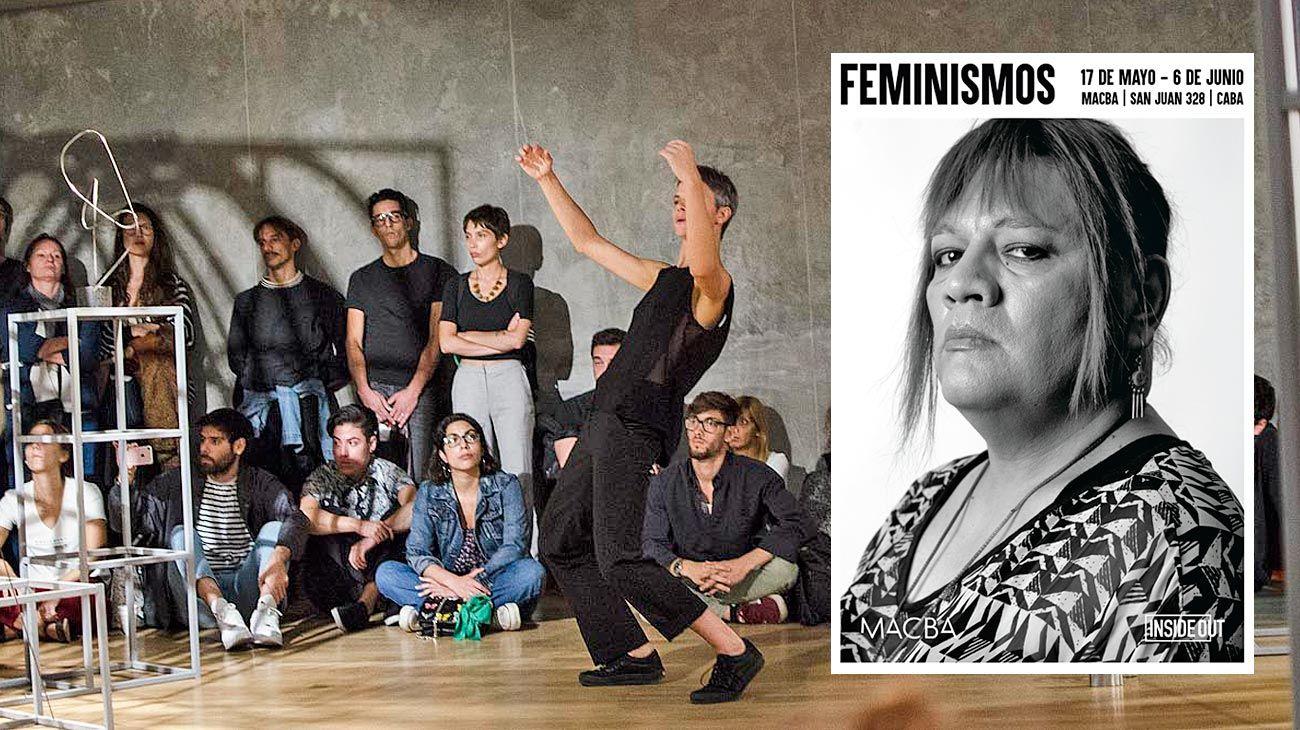 Hoy. Coreógrafos y bailarines analizan obras. La instalación Feminismos en MACBA.