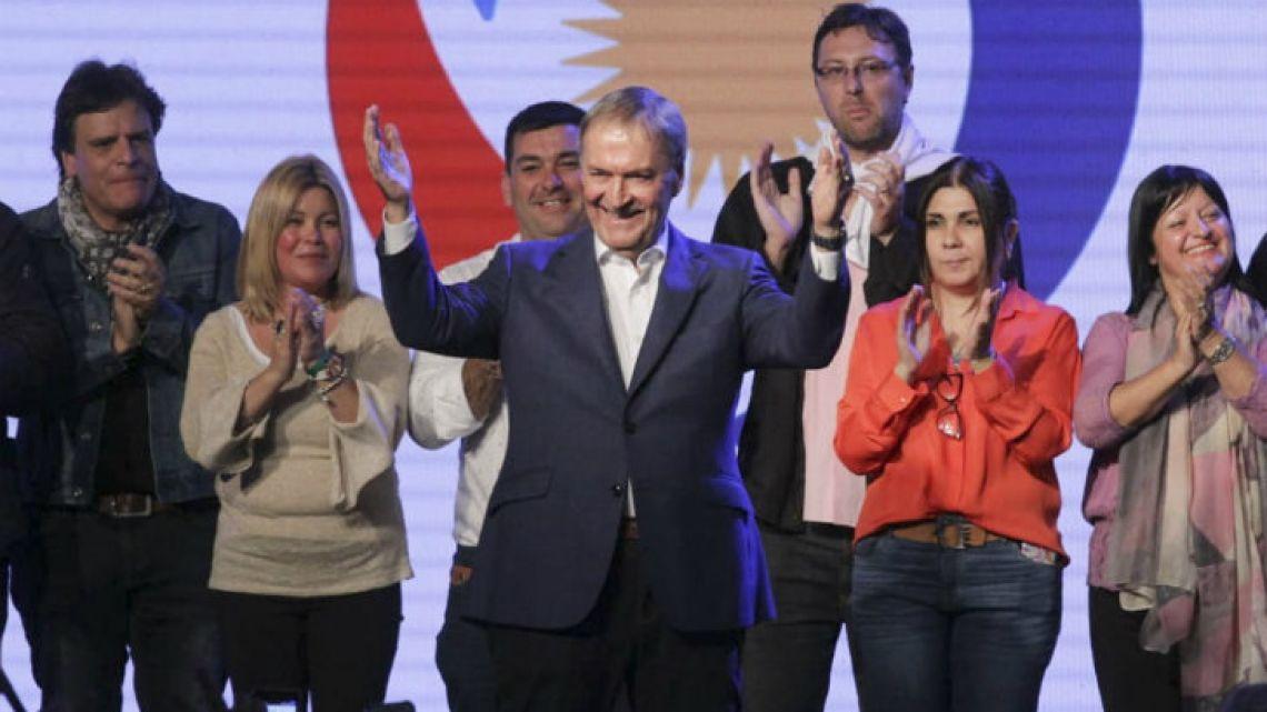 Córdoba Peronist Governor Juan Schiaretti.