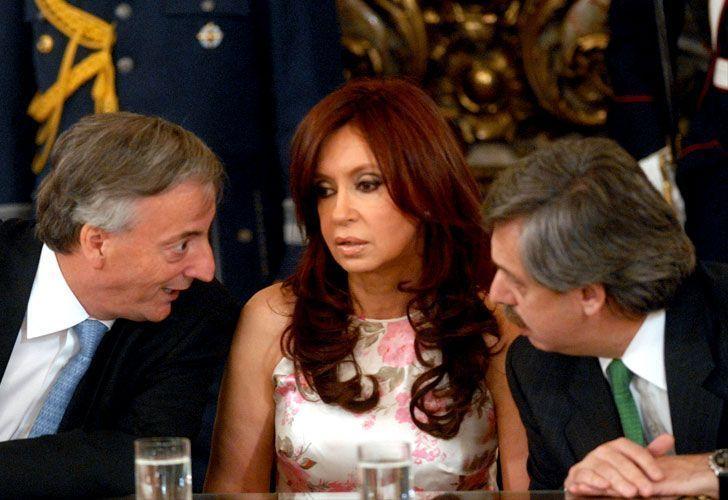 Las peleas de Néstor, Cristina y Alberto Fernández por los vices K