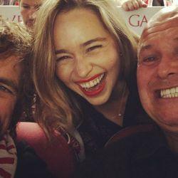 Emilia Clarke, emocionada por el final de GOT
