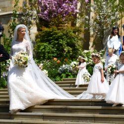 Lady Gabriella Windsor y Thomas Kingston, otra pareja que se casó en la familia real británica.