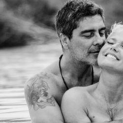 Xuxa y Junno Andrade, enamorados
