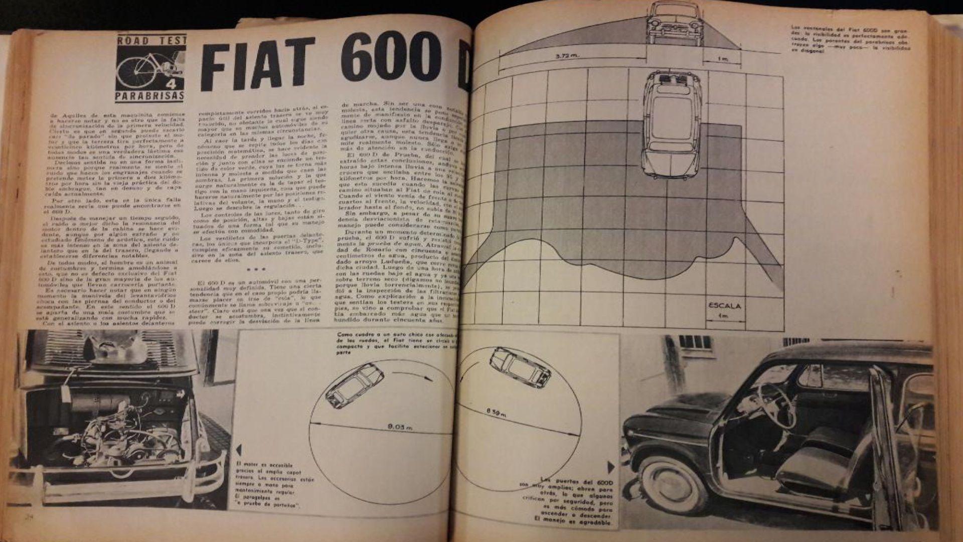 Parabrisas Asi Probabamos Al Fiat 600