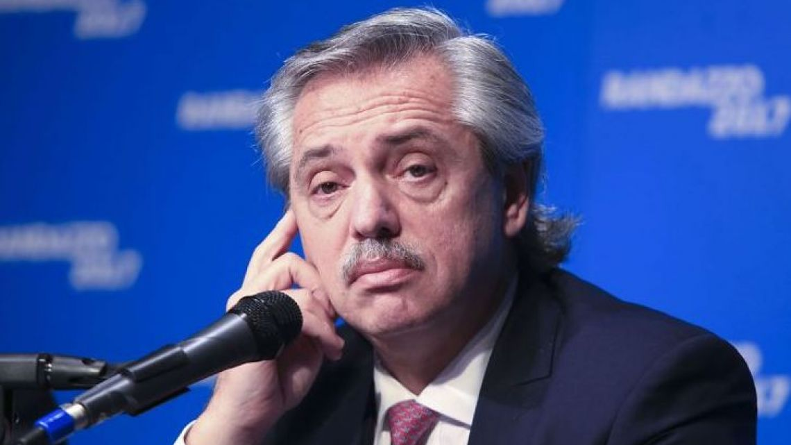 Alberto Fernández (file)