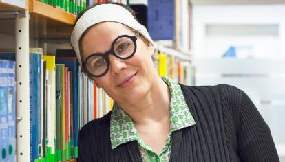 Protagonista. La escritora presentó en la Feria del Libro de Buenos su última novela, Los amores de una vida (Edhasa).