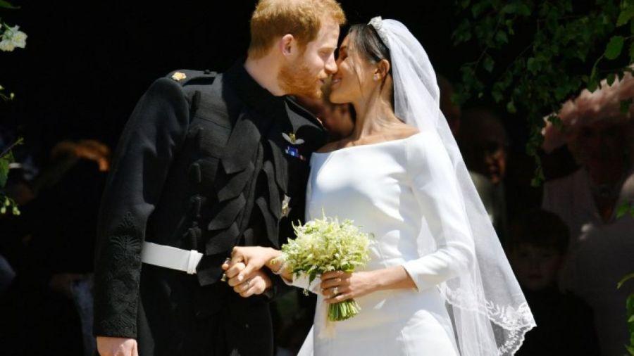 Meghan y Harry celebran su primer aniversario de boda con imágenes inéditas de su casamiento