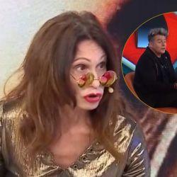 Edda Bustamante protagonizó un escándalo en Intrusos