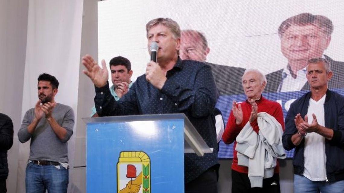 Sergio Ziliotto (centre)