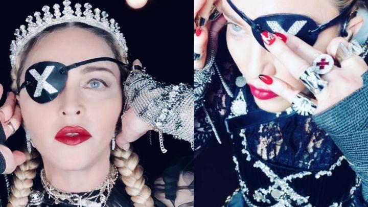 Madonna personificó a Juana de Arco en su paso por Eurovision 2019
