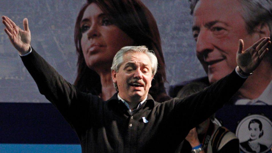 El precandidato presidencial por Unidad Ciudadana, Alberto Fernandez.