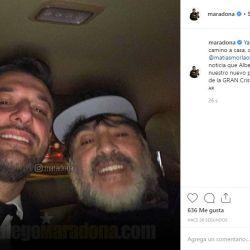 Diego Maradona en Argentina