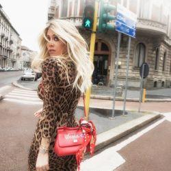 Wanda Nara, en las calles de Milan