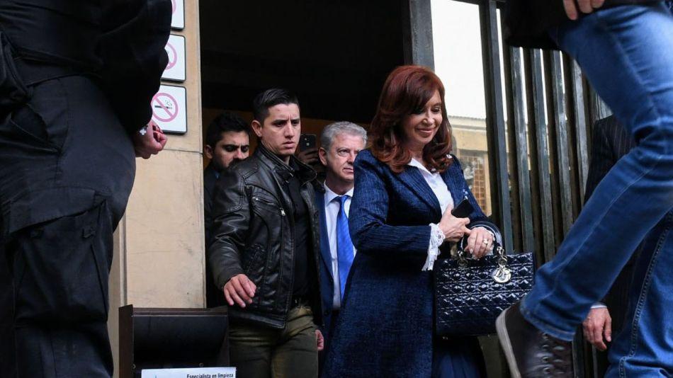 20190521 Salida Cristina Kirchner Comodoro Py