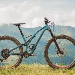 Una bicicleta de enduro se caracteriza por la doble suspensión, la transmisión monoplato y la tija telescópica.
