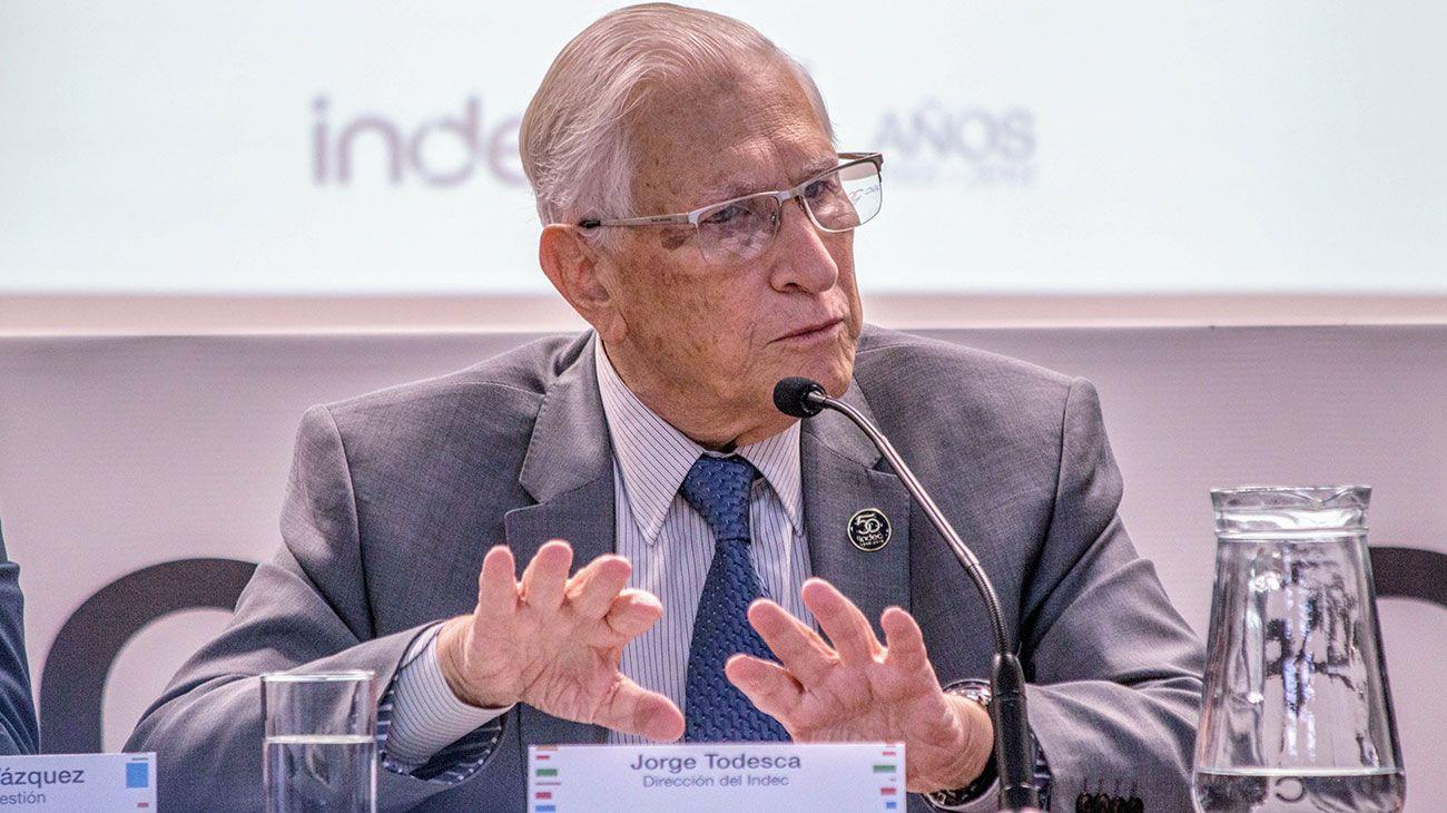 Jorge Todesca, exdirector del INDEC